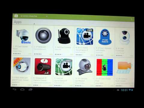 How To Setup Foscam Camera on Android Tablet/Phone