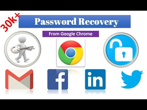 How to recover password from google (chrome)