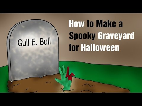 How to Make a Spooky Graveyard for Halloween