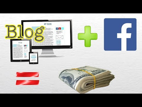 Google Blogger and Facebook fan page together can make you RICH