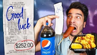 Download Letting Fast Food Employees DECIDE What i Eat for 24 HOURS! (IMPOSSIBLE FOOD CHALLENGE) Video