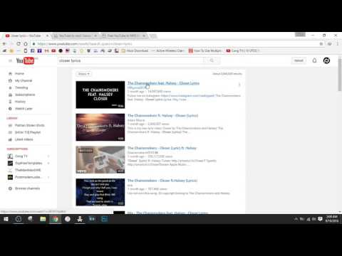 [HOW TO] Download music from youtube without converting online