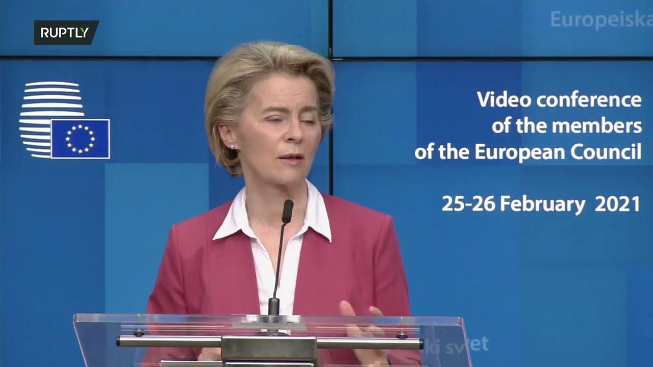 LIVE: Von der Leyen, Michel hold presser after EU leaders meeting on COVID-19