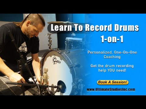How To Record Drums 1-On-1 Workshops