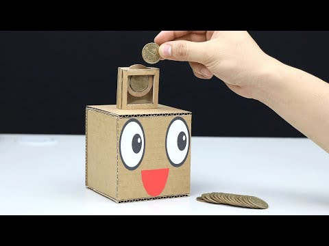 How to Make Coin Box Save Money for Kids