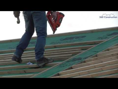 Roofing - Installation of Felt & Battens