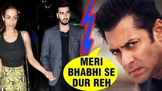 Salman Khan Miffed With Arjun Kapoor, REFUSES To Do