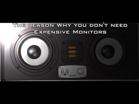 The Reason Why You Don't Need Expensive Speakers/Monitors