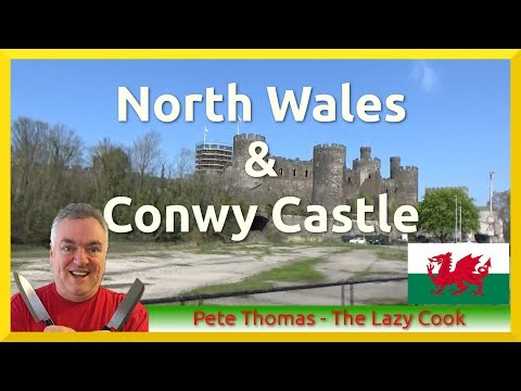 North Wales and Conwy Castle Trike Ride