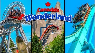 Top 10 Fastest Rides & Roller Coasters at Canada