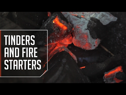 Tinders and Fire Starters