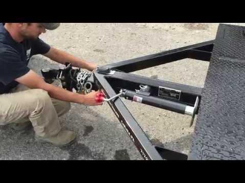 Sloan Kwik Load Texas Rollback Trailer Tilt Demonstration 717-220-4220 Best Choice Trailers