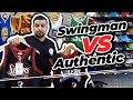 Mitchell & Ness Swingman VS Authentic NBA Jersey Comparison