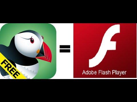  Flash Player Para iPhone/iPad/iPod Con Puffin (No Jailbreak) 