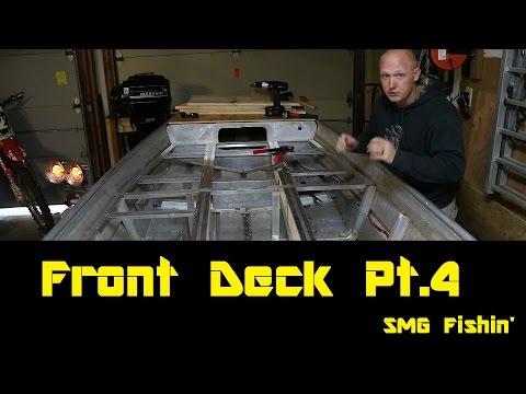 Front Deck Fabrication Pt.4 | Jon Boat to Bass Boat Restoration