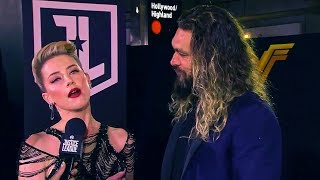 Amber Heard & Jason Momoa
