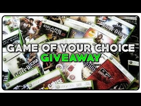 Giveaway Announcement - 2 Winners (Game of Choice!)