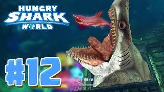 6 EPIC SECRET HIDDEN AREAS ! - Hungry Shark World Part 12 (HSW) - EVIL MEGALODON!