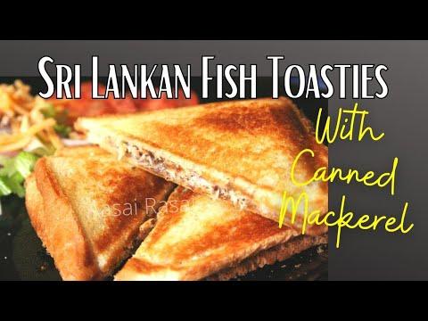 SRI LANKAN FISH TOASTIES (CANNED MACKEREL)