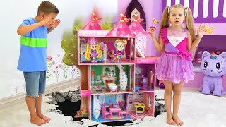 Diana and Roma Mysterious Dollhouse Story