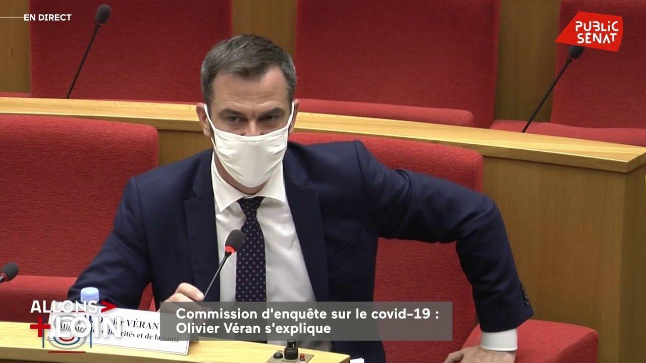 Olivier Véran bousculé en commission d'enquête Covid
