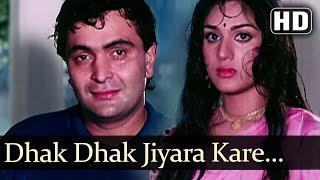 Dhak Dhak Jiyara Kare - Rishi Kapoor - Meenakshi - Gharana - Bollywood Songs - Laxmikant Pyarelal