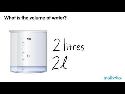 Measuring Volume in Litres