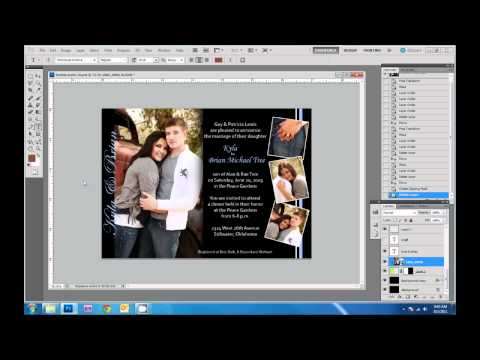 How to Design Wedding Invitations in Photoshop