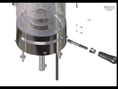 PEGAS Craftap 2.0 beer dispenser - 3D