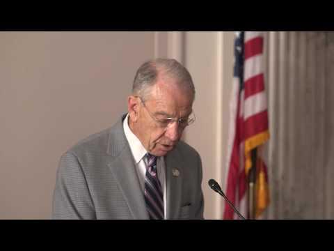 Senator Chuck Grassley Speaks at Lanham Act 70th Anniversary Celebration