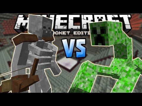 MUTANT CREATURE MOB BATTLE!!! - 0.14.0 Mob Battle Mod - Minecraft PE (Pocket Edition)