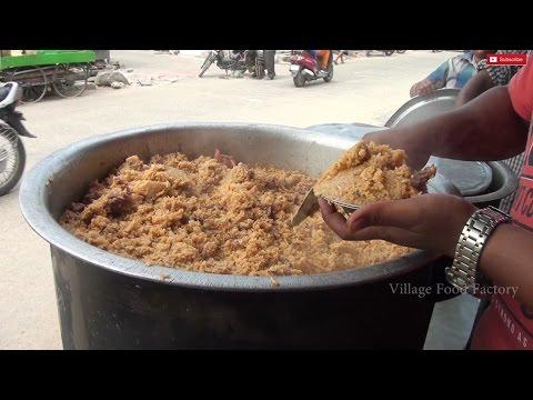 BEEF BIRIYANI Making Muslim style prepared 150 people / VILLAGE FOOD FACTORY/ STREET FODDS