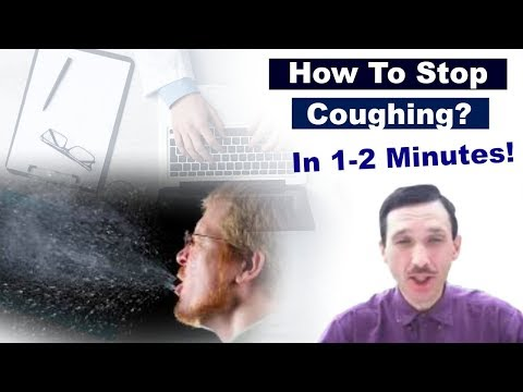 How to Stop Cough in 1-2 Min Fast  (Breathe Easy Exercise to Get Rid of Coughing)