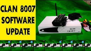Clan 8007,1506t with dvb finder set top box | online upgrade