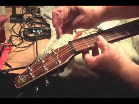 How To Change Acoustic Guitar Strings FAST EASY Restring & Stay in Tune Bronze Steel string tutorial
