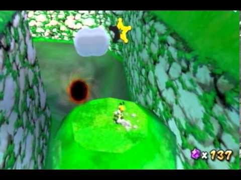 Super Mario Galaxy 2 Custom Level - Bianco Hills - Star 1 - Star Chips Hidden In The Hills
