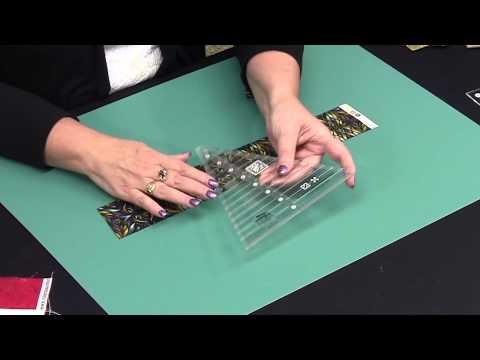 Creative Grids® 45° Kaleidoscope & Dresden Plate Ruler - CGRTKAL45