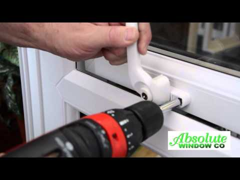 Changing a handle on a upvc window