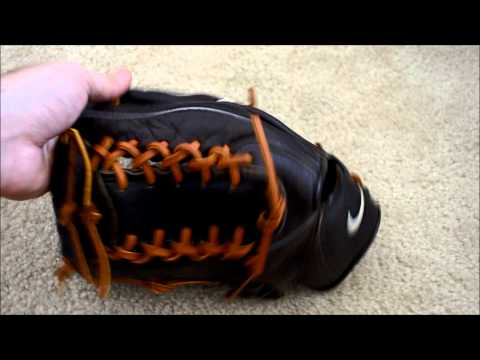 Nike 1200 Baseball Glove Relace - Before and After Glove Repair
