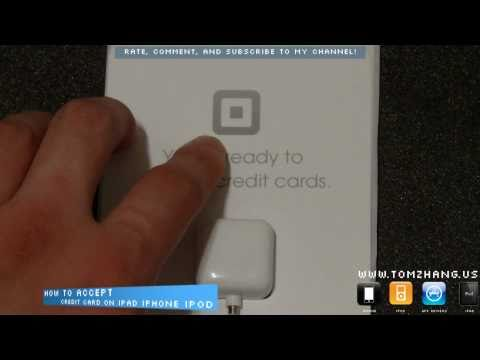 Square: How to Accept Credit Card Payments on your iPad / iPad 2 / iPhone / iPod Touch HD