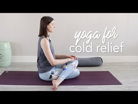 Yoga for Cold and Cough Relief