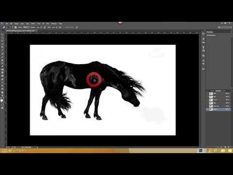 PHOTOSHOP CC TUTORIAL : HOW TO USE ALPHA CHANNEL ( HD )