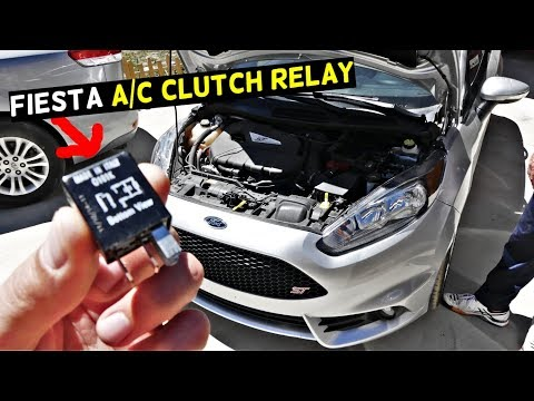 FORD FIESTA A/C CLUTCH RELAY AIR CONDITIONER RELAY MK7 ST