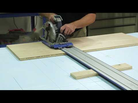 Kreg Accu-Cut™ Tip: Support the Track to Cut Narrow Pieces