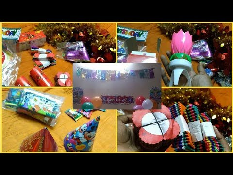 Baby birthday decoration ideas at home | Birthday party Planning