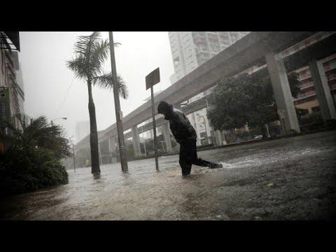 HURRICANE IRMA Aftermath.. (Damage Footage) Florida