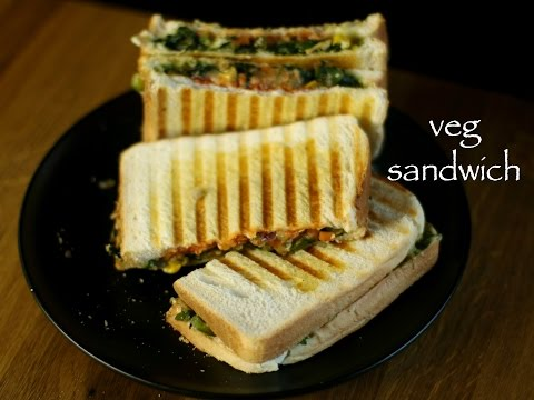 veg sandwich recipe | easy vegetable cheese sandwich recipe | kids lunch box recipe
