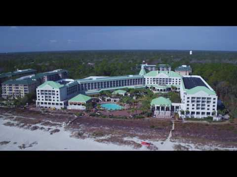 Westin Hilton Head Resort and Spa Drone View