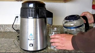 How To Easily Distill Water At Home Using The Megahome Countertop Wat