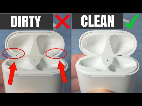 How To Clean Apple AirPods Case - Taking Care Of AirPods Case
